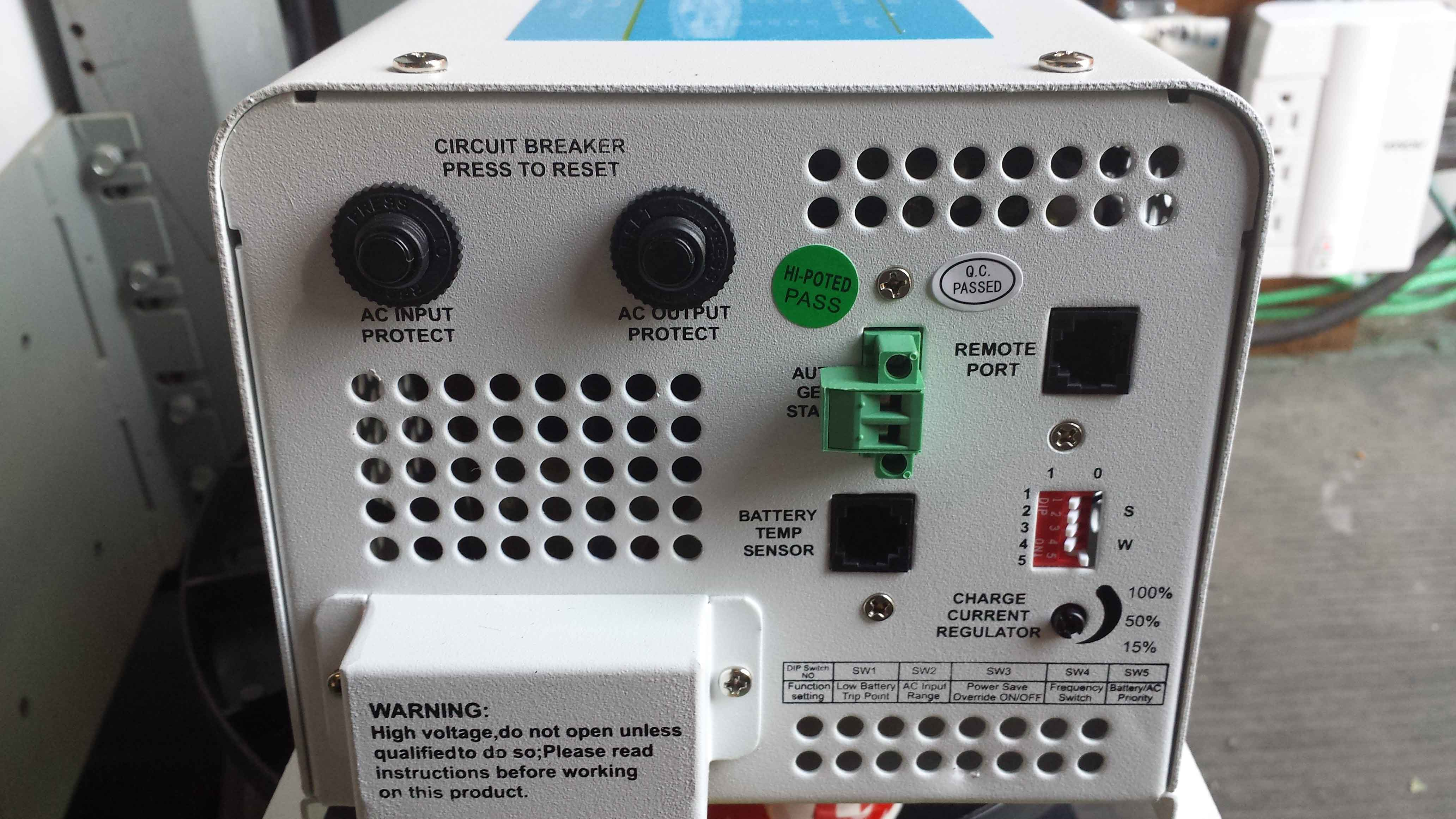 Inverters Burnaby Bc Power Inverter Circuit With Built In Charger Electronic These Have Breakers To Protect Your Installation Adjustable Charging From 0 100 And Other Options Including Hardwire Connection